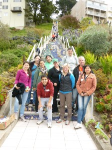 The Moraga Steps are maintained completely by volunteers.